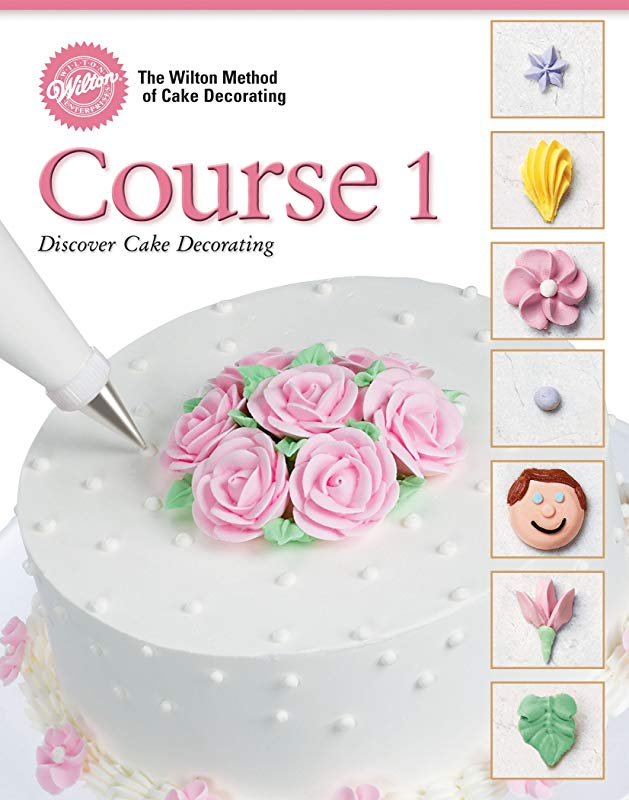 Wilton 902 240 48 Page Soft Cover Cake Decorating Guide Course 1