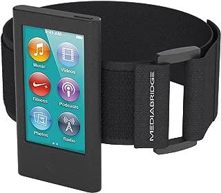 Mediabridge Armband for iPod Nano - 7th Generation / 8th Generation ( Black ) - Model AB1 (Part# AB1-IPN7-BLACK )