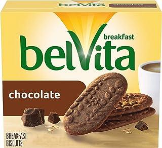 belVita Chocolate Breakfast Biscuits, 5 Packs (4 Biscuits Per Pack)