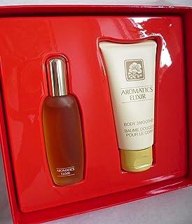 Clinique Aromatics Elixir Duo Set de regalo Perfume Spray & Loción Corporal Nuevo