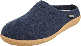 0fbced371d4 Haflinger GZL Leather Trim Grizzly at Zappos.com