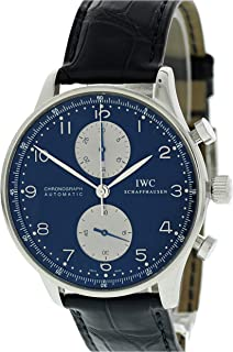 IWC Portuguese Automatic-self-Wind Male Watch IW371447 (Certified Pre-Owned)