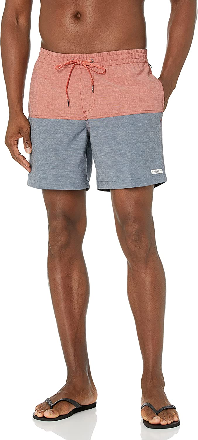 Quiksilver Men's Standard 17 Sales results No. 1 Inch Safety and trust Swim Bathi Elastic Waist Trunk
