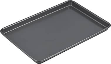 MASTERPRO MPHB3 Bakeware Tray, Carbon Steel/Black