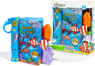 KidzBuy Electronic Animal Tails Cloth Book Jungle   Language Learning Jungly Tail Musical Cloth Book