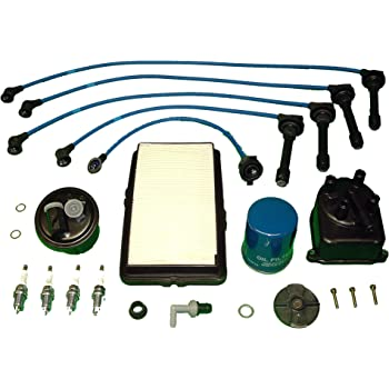 Ignition Distributor /& Wire Set for Honda Accord 1990 1991