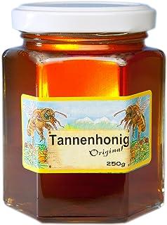 Deutscher Tannenhonig - 250g Tannen Honig flüssig - Bienenhonig in bester Qualität