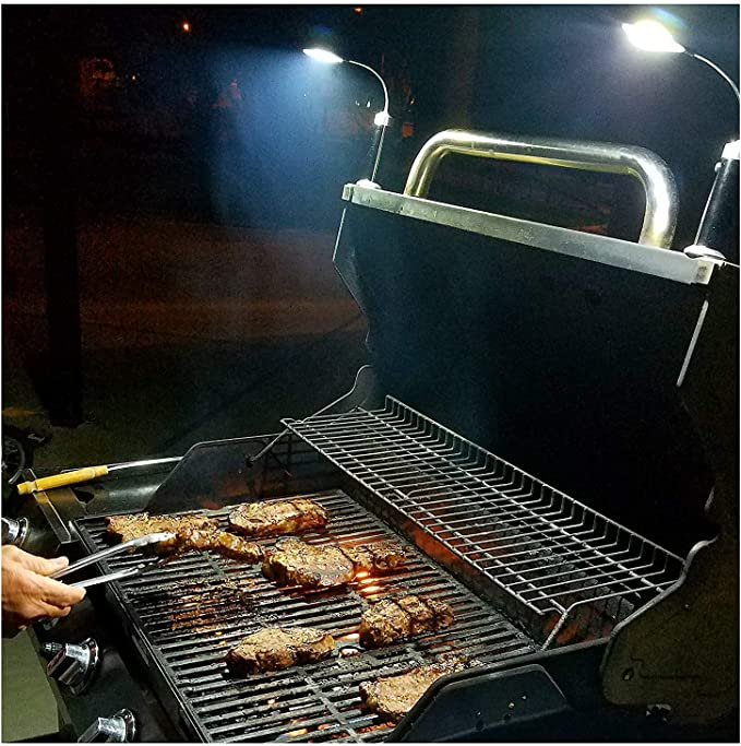 BRIGHT EYES Magnetic Barbecue BBQ Light - Best for Large Grills