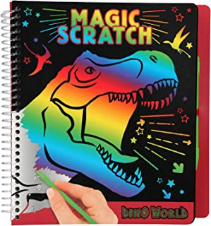 comprar comparacion Depesche 10833 Mini Magic Scratch Book, Dino World - Libro para Colorear