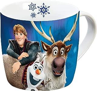 Disney Frozen 12754 Olaf & Sven Porcelain Mug Coffee Cup Children's Cup Porcelain Multicoloured