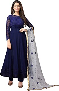 Saarah Women's Multicoloured Salwar Suit Set