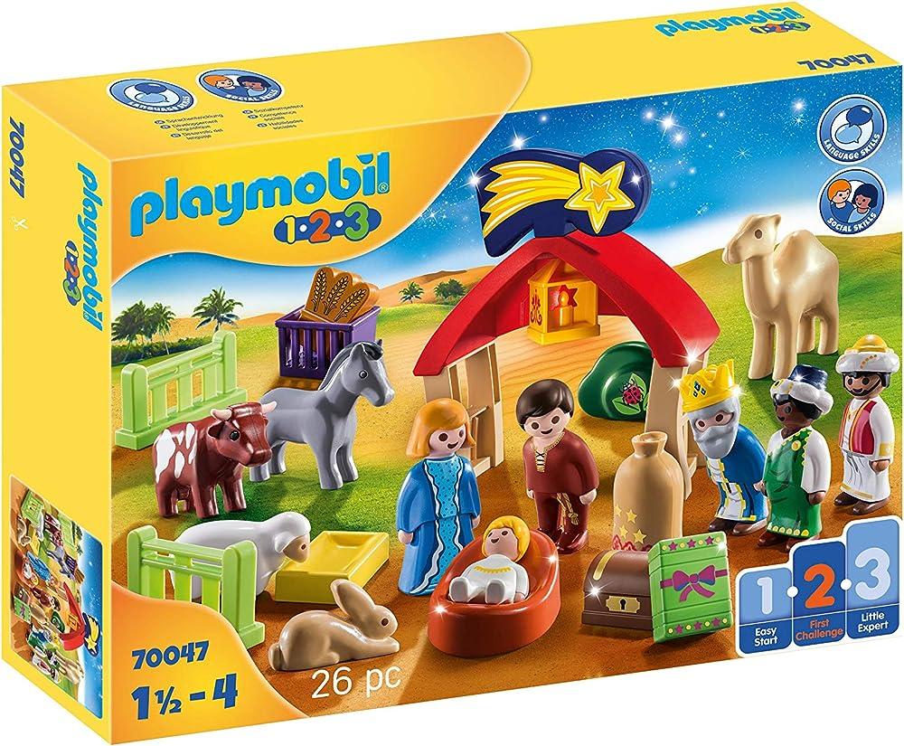 Playmobil - il mio primo presepe, giocattolo 70047