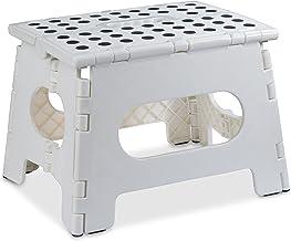 Taburete plegable – El taburete ligero es lo suficientemente resistente como para soportar adultos y lo suficientemente se...