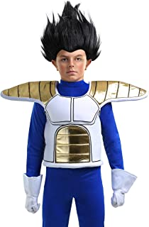 dragon ball z saiyan armor costume