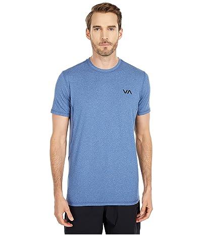 RVCA VA Sport Vent Short Sleeve Top (Surplus Blue) Men