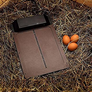 ZXZCHGN Automatische kleine kippenkippen deur, volledige aluminium deuren, licht detectie, waterdichte kippendeur, eenvoud...