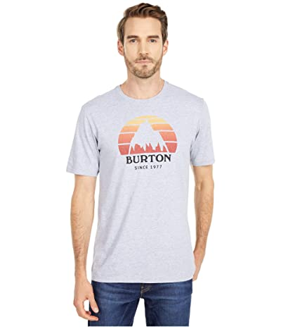Burton Underhill Short Sleeve T-Shirt (Gray Heather) Clothing