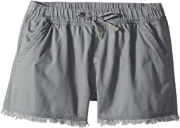 Splendid Littles Washed Twill Shorts (Big Kids)