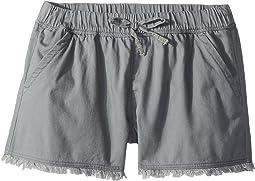 Splendid Littles - Washed Twill Shorts (Big Kids)