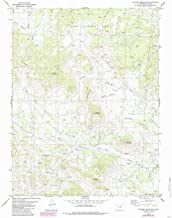 YellowMaps Witcher Mountain CO topo map, 1:24000 Scale, 7.5 X 7.5 Minute, Historical, 1983, Updated 1985, 26.8 x 22.1 in
