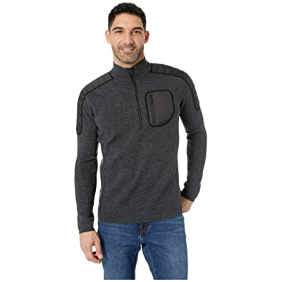 Smartwool Ski Ninja 1/2 Zip Sweater (Medium Gray Heather) Men