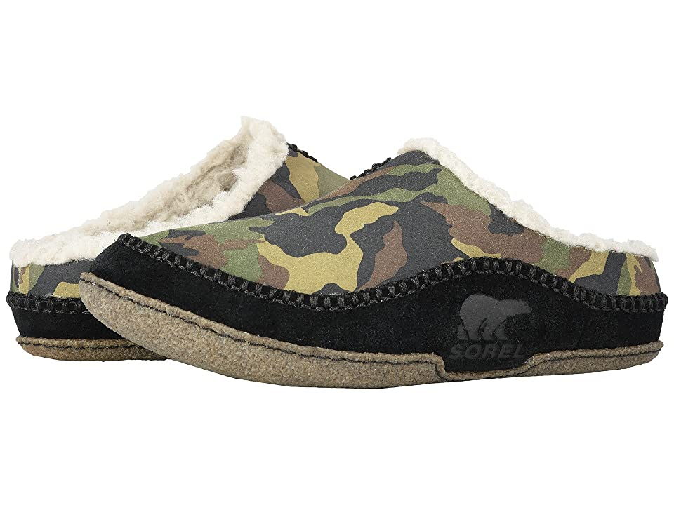 2389fd05842 SOREL Falcon Ridge (Black Wool) Men s Slip on Shoes