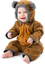 Cuddle Club Fleece Baby Bunting Bodysuit for Newborn to 4T – Infant Pajamas Winter Jacket Outerwear Coat Toddler Costume