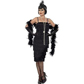 Smiffys-45502X1 Disfraz de Chica años 20, con Vestido Largo ...