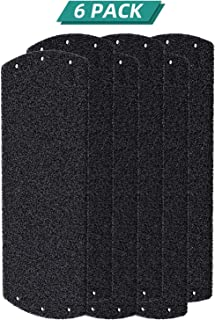 Fil-fresh HAP242 Carbon Pre Filter Replacement for Holmes HAP242-NUC, HAPF30AT, 6 Pack Carbon Prefilter Set for One-Year Use