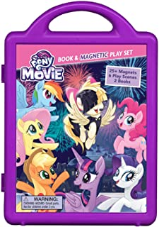 My Little Pony The Movie: Book & Magnetic Playset