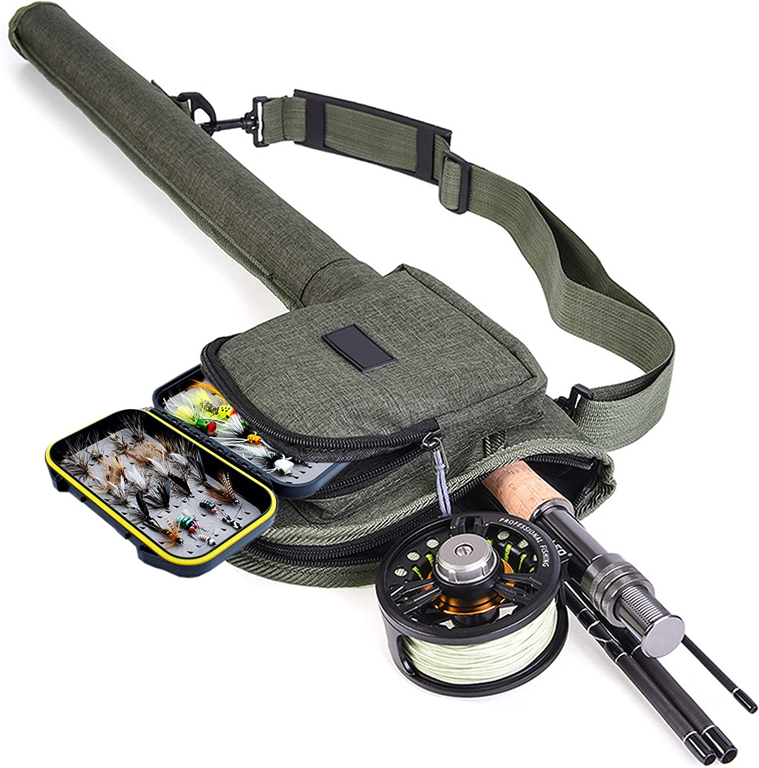 YAZHIDA Fly Fishing New color Starter Combo favorite Package