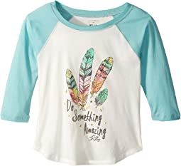 Billabong Kids - Amazing Goals Raglan (Little Kids/Big Kids)