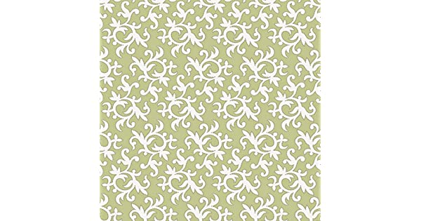 Decorate By Color BC1582015 Green With Outline Wallpaper