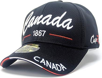 Canada 1867 True North Baseball Cap Adjustable Hat True North - Black 3c945d857cc