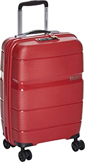 American Tourister Linex Hardside Spinner Luggage 55cm with tsa lock - Red