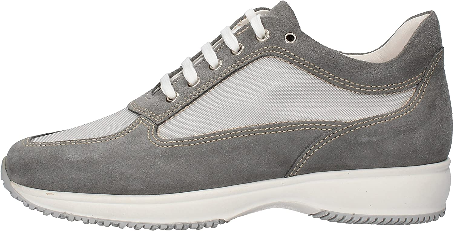 SABEN SHOES Fashion-Sneakers Womens Suede Grey