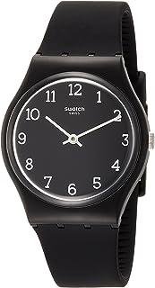 Swatch Women's Analogue Quartz Watch with Silicone Strap GB301