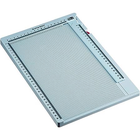 Efco 1780998 Planche de Pliage pour Cartes, enveloppes et boîtes, Plastique, Bleu, 34x23 cm
