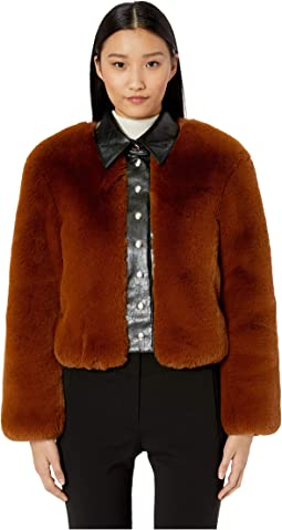 Faux Fur Chubby Jacket