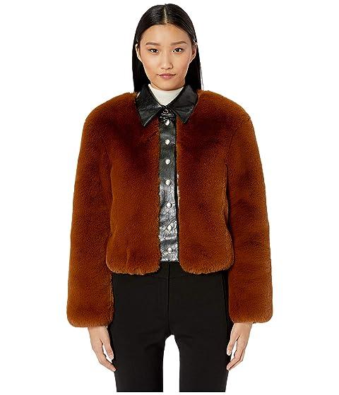 Sonia Rykiel Faux Fur Chubby Jacket