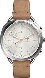 Fossil Hybrid Smartwatch Accomplice Sand Leather - FTW1200
