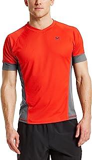 MISSION mens VaporActive Proton Short Sleeve Running T-Shirt