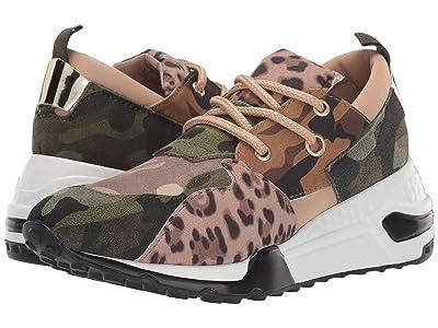 Steve Madden Cliff Sneaker (Khaki/Olive) Women