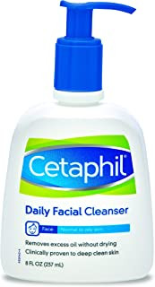 (240ml) - Cetaphil Daily Facial Cleanser For Normal To Oily Skin 235 ml