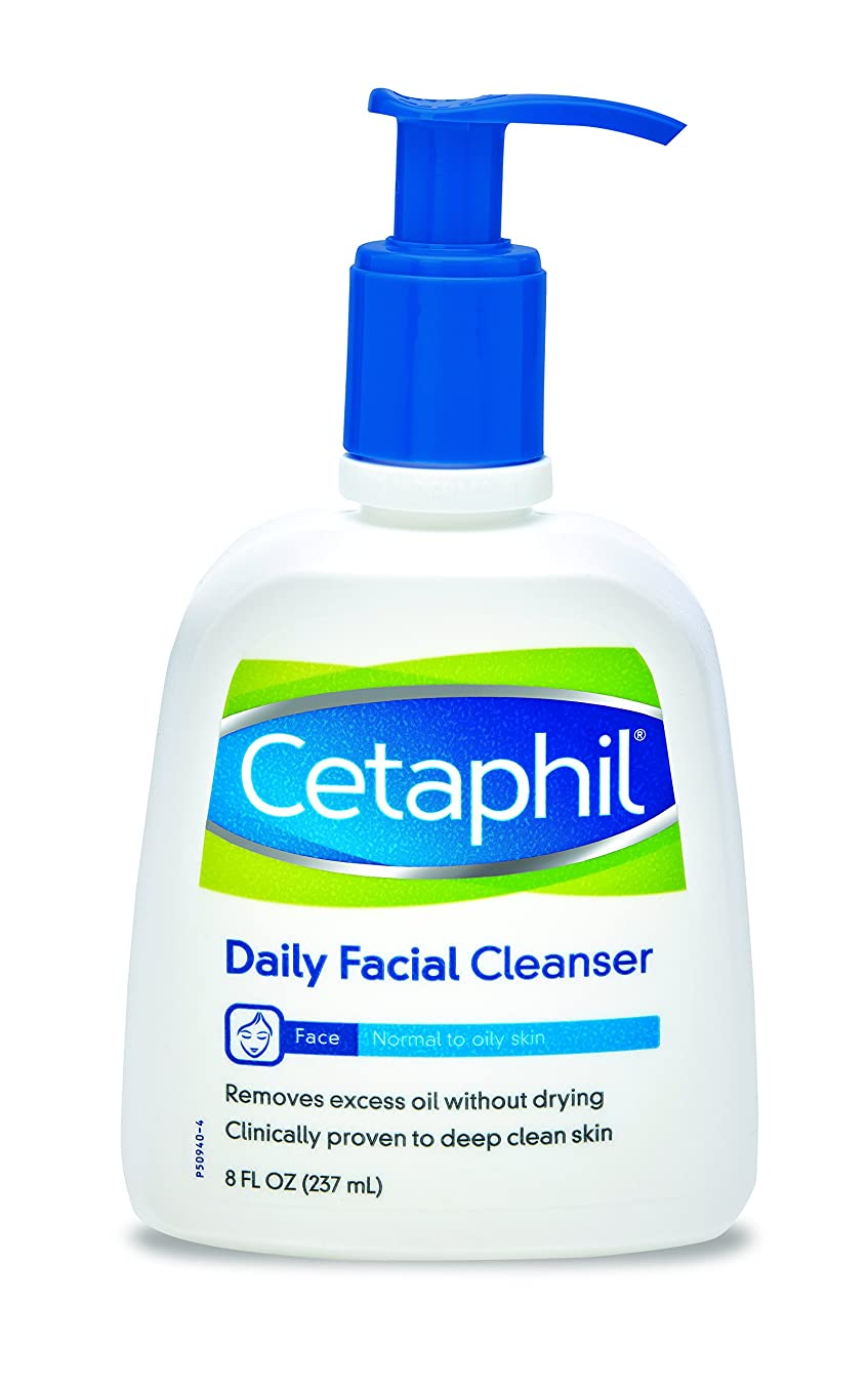 カビ引退したビジター(240ml) - Cetaphil Daily Facial Cleanser For Normal To Oily Skin 235 ml