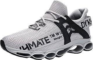 DYKHMATE Zapatillas de Deporte Hombres Mujer Running Zapatos para Correr Antishock Gimnasio Sneakers Deportivas Transpirables