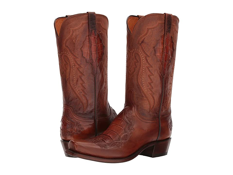 Lucchese Bryson (Peanut Brittle) Cowboy Boots