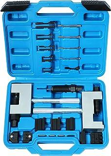 نصب کننده موتور زنجیره تایمر نصب کننده شکن ابزار مونتاژ کیت ابزار پرچ کردن جداکننده میل بادامک دوتایی برای مرسدس بنز M271 M272 M273