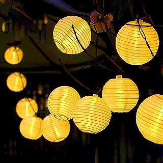 30 Guirlande Lumineuse Solaire Exterieur, Guirlande Lumineuse Lampe Solaire Exterieur Jardin, pour la Décoration Intérieur...