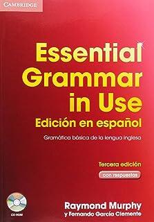 comprar comparacion Essential grammar in use with key + cd rom